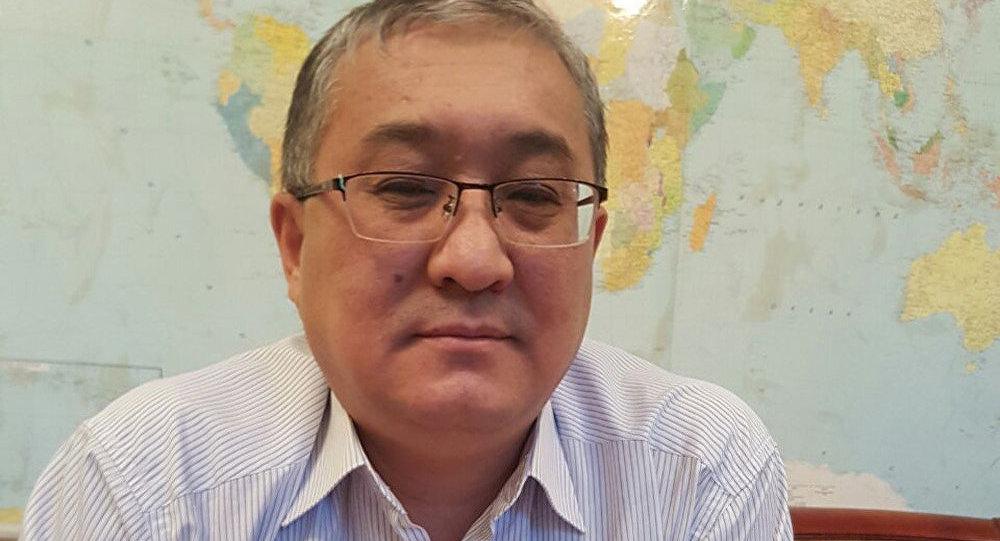 Эйр Кыргызстан авиакомпаниясынын директору Жолдошбек Бектургановдин архивдик сүрөтү