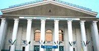 Фасад Кара-Балтинского дома культуры им. В.И.Ленина