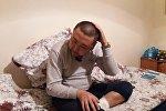 Житель села Мады Кара-Суйского района Ошской области Акжол Калбаев, которого в течение 10 дней держали в заложниках в Ходженте.