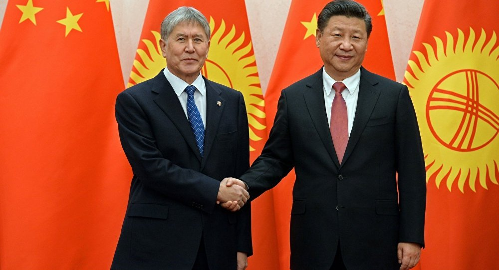 Атамбаев встретился спредседателем Китайская республика СиЦзиньпином