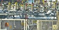 Электрическая подстанция в Бишкеке
