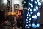 Рождественское богослужение в столичной церкви