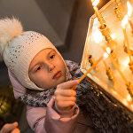 Кыргызстандын христиан динин туткан жарандары 7-январь күнү Рождество майрамын майрамдашты