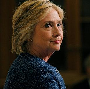 АКШнын президенттигине талапкерлигин койгон Хиллари Клинтондун архивдик сүрөтү