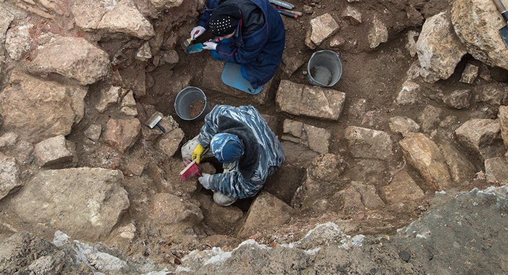 Археологи отыскали 3-тысячелетние останки крокодила