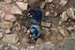 Археологиялык казуулар. Архивдик сүрөт