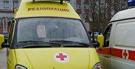 Автомобили детской бригады отделения экстренной консультативной скорой медицинской помощи. Архивное фото