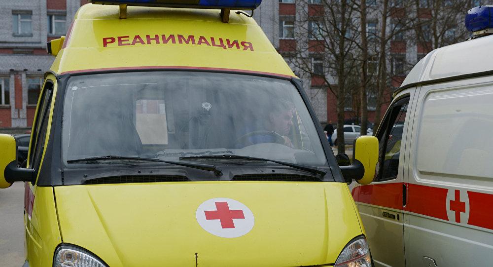 Россиядагы тез жардам автоунаалары. Архивдик сүрөт