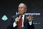Архивное фото генерального директора компании Bloomberg Майкла Блумберга