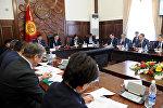 Рабочее совещание по обсуждению мер по реализации Закона КР О внесении изменений в Конституцию
