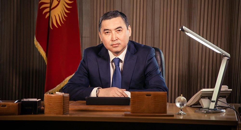 Архивное фото кандидата в мэры Бишкека от партии Онугуу-Прогресс Нурдина Абдылдаева