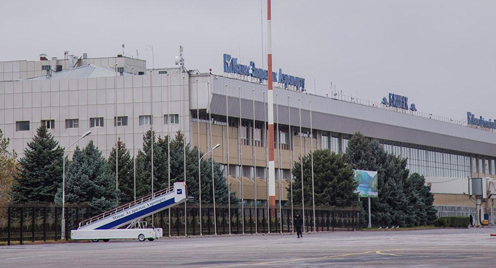 Международный аэропорт Манас. Архивное фото