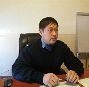 Араван райондук ИИБнын башчысынын орун басары Нурлан Жанбаев