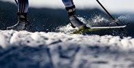 Лыжник. Архивное фото