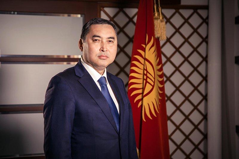 Кандидат в мэры Бишкека от партии Онугуу-Прогресс, экс-заместитель министра чрезвычайных ситуаций КР Нурдин Абдылдаев