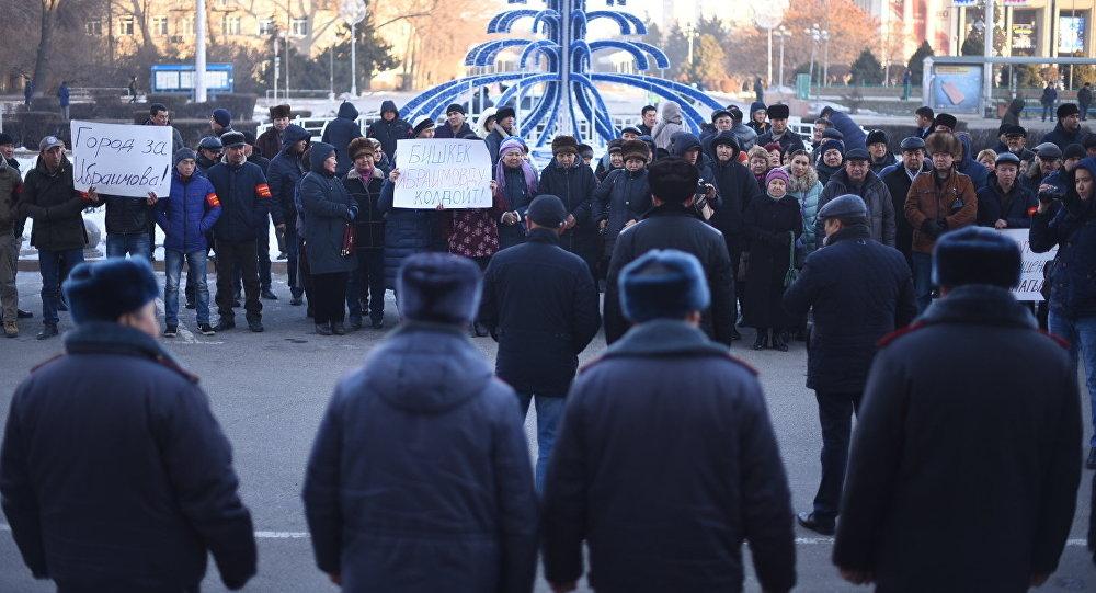 Албек Ибраимов вновь стал мэром города Бишкек
