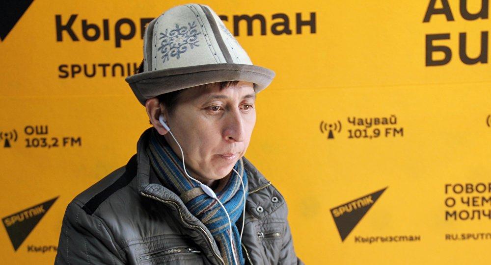 Архивное фото главы компании ТМС-Тынчтык мониторинг сервис Тынчтыка Кожобекова