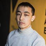 Корреспондент информационного агентства и радио Sputnik Кыргызстан Мирбек Сакенов
