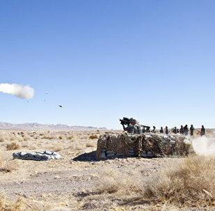 Американский переносной зенитно-ракетный комплекс (ПЗРК) FIM-92 Stinger. Архивное фото