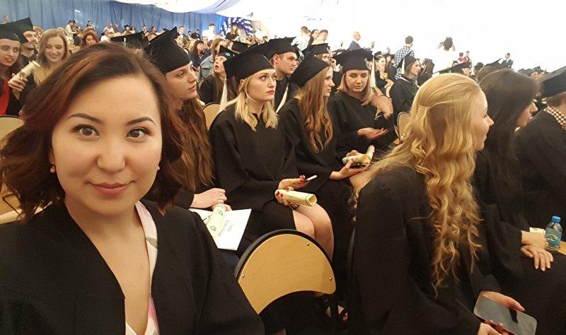 Кыргызстанка Чолпон Мукамбетова, работающая финансовым аналитиком в международной компании в Варшаве