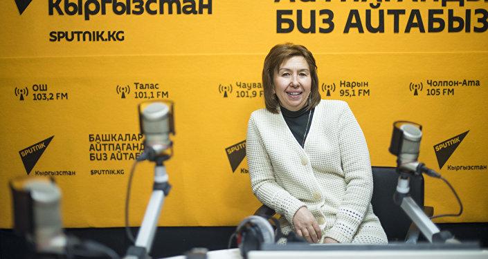 Волонтер и активист Венера Шамиева