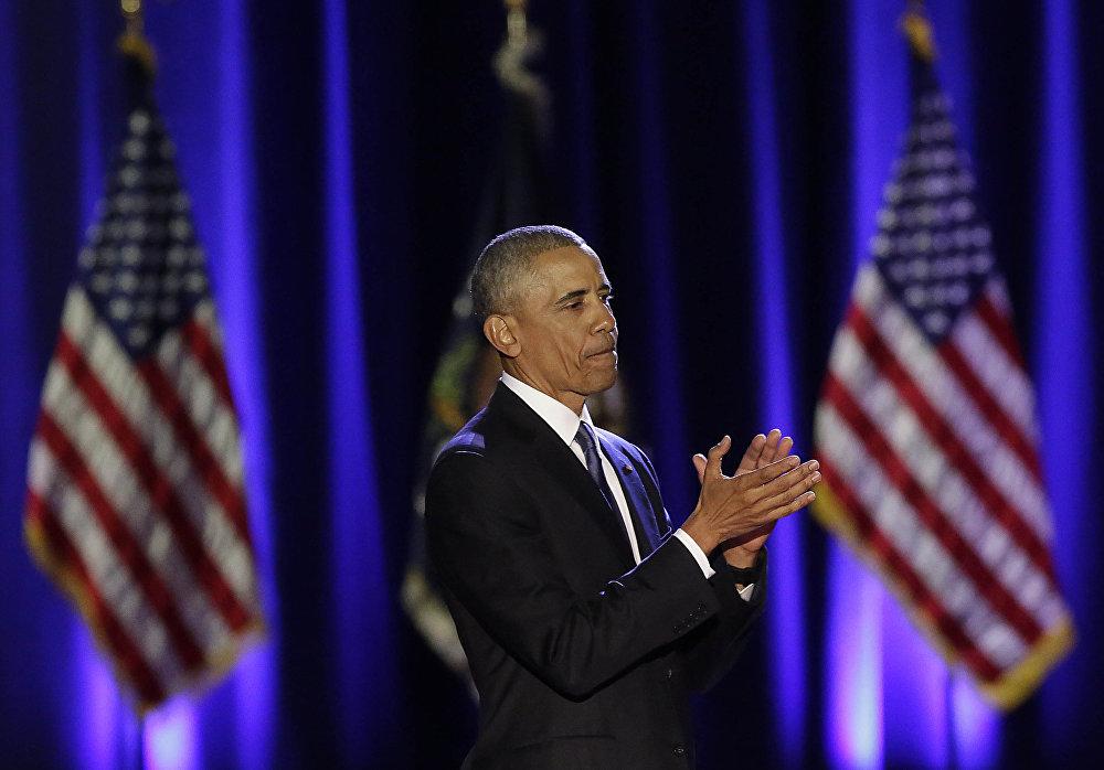Прощальная речь президента США Барака Обамы в Чикаго