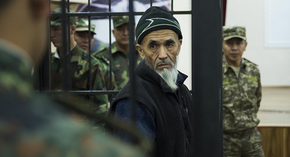 Суд над Азимжаном Аскаровым, обвиняемым в разжигании межэтнического конфликта на юге Кыргызстана в 2010 году