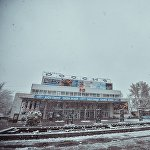 Кинотеатр Россия сегодня встретил зиму.