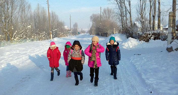 Несколько дней назад температура воздуха в Ат-Башинском районе доходила до 38 градусов мороза.