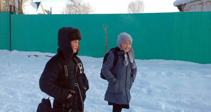 В Нарынской области из-за сильных морозов просят продлить школьные каникулы