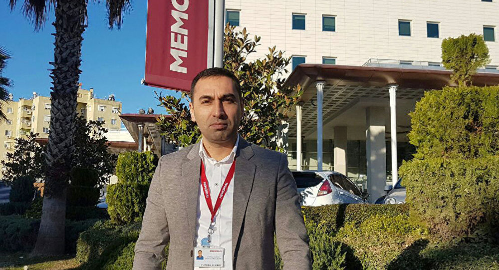 Гражданин Турции Фуркан Улусой