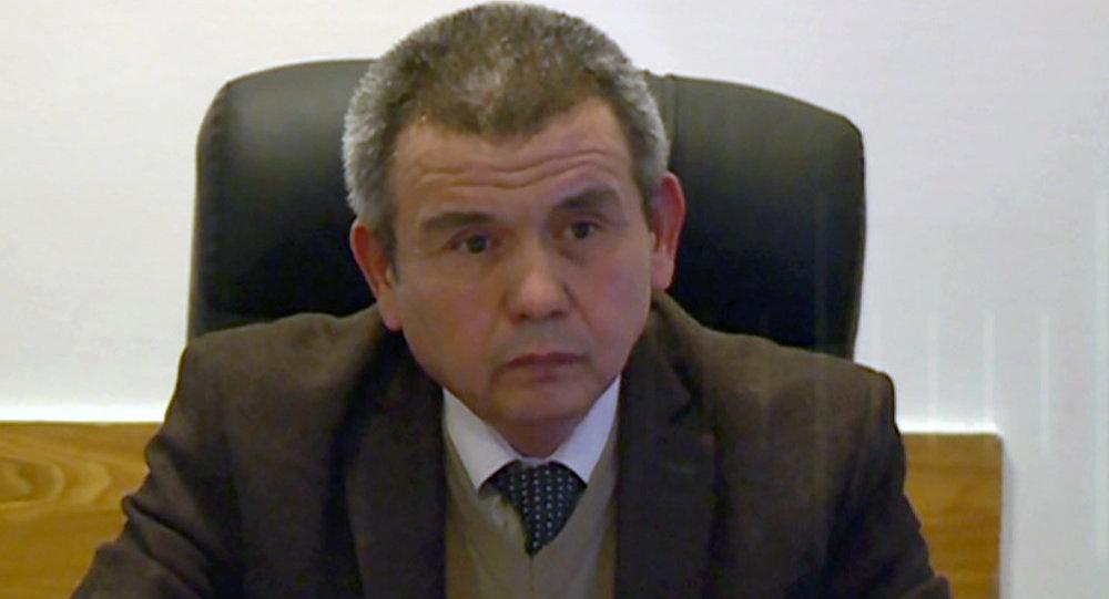 Өкмөттүн Оштогу өкүлчүлүгүнүн регионалдык бөлүмүнүн башчысы Райымберди Мөнөкбаев