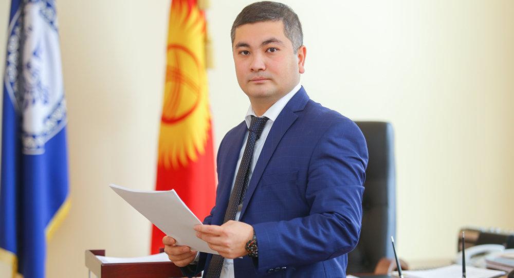 Министр юстиции Кыргызской Республики Уран Ахметов