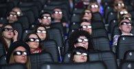 Открытие лазерного кинотеатра IMAX в Москве