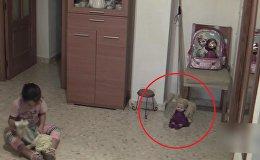 Ролик Дом с привидениями напугал пользователей Сети