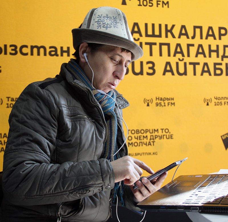 Глава компании ТМС-Тынчтык мониторинг сервис Тынчтык Кожобеков