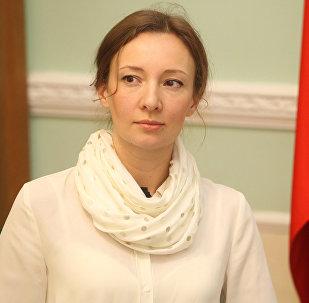 Архивное фото уполномоченного по правам ребенка в России Анны Кузнецовой