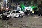 Бишкек шаарынын борбордук көчөсүндө ири жол кырсыгы