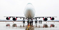 Архивное фото самолета Boeing 747-400