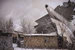 Дача айылындагы авиакырсыктын кесепети. Архивдик сүрөт