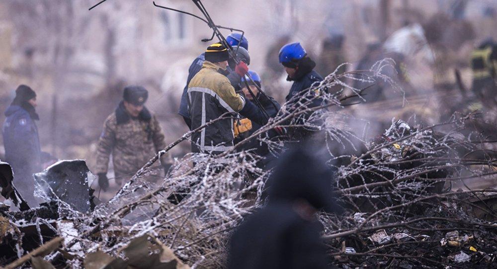 Найден черный ящик рухнувшего вКиргизии турецкого грузового самолета