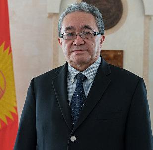 Временный поверенный в делах посольства Кыргызстана в Казахстане Кайнарбек Токтомушев