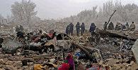 Крушение грузового самолета Boeing-747 в Дача-Суу