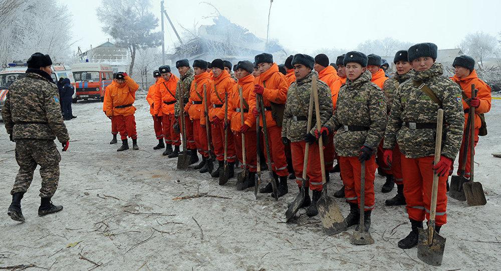 Под Бишкеком завершили поисковые работы наместе крушения «Боинга»
