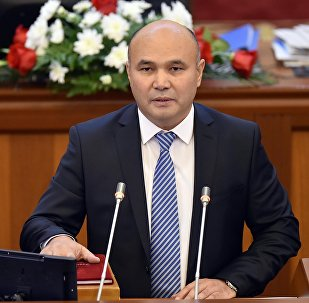 Кыргызстан фракциясынын депутаты Данияр Төлөновдүн архивдик сүрөтү