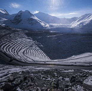 Золоторудное месторождение Кумтор в Иссык-Кульской области