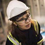 На золотодобывающей фабрике работают и женщины