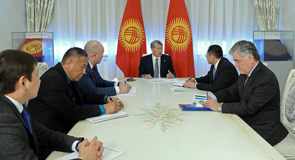 Вице-премьеры Кыргызстана иУзбекистана обсудили вопросы поделимитации идемаркации границ