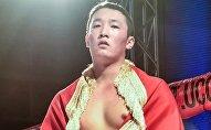 Чемпион Кыргызстана по ММА Алишер Жаныш на международном турнире ММА на Ямале