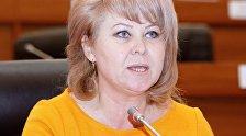 Архивное фото депутата ЖК от фракции СДПК Ирины Карамушкиной